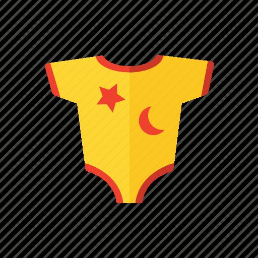 baby, body, flower, shirt icon icon