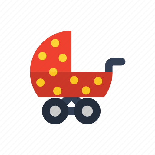 baby, kid, park, stroller, toddler, walk icon icon
