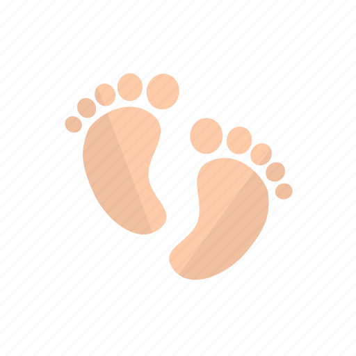 baby, child, family, foot icon icon