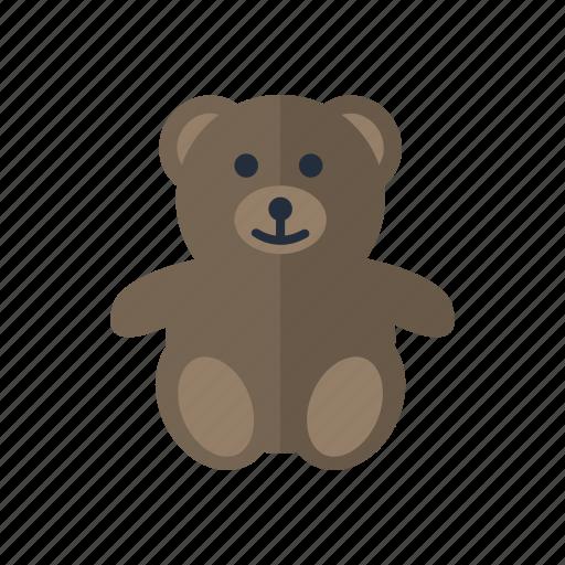 baby, children, teddybear, toddler, toy icon icon
