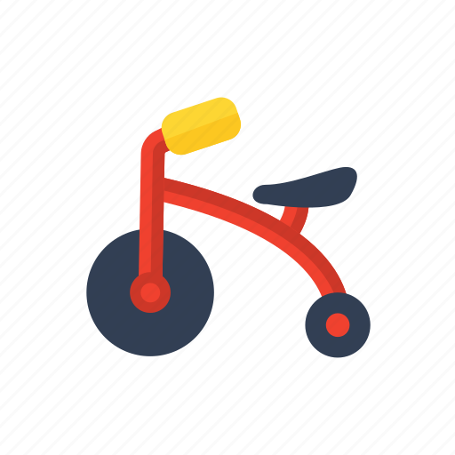 baby, children, toddler, toy, tricycle icon icon