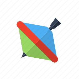gyroscope, top, turntable, whirligig icon icon
