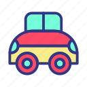 baby, car, child, fun, toy icon