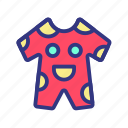 baby, child, cothing, fun, suit, toy icon