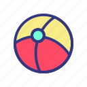 baby, ball, child, fun, toy icon