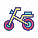 baby, child, cycle, fun, toy icon