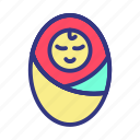 baby, child, fun, toy icon