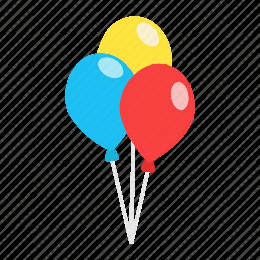 air, baby, balloon, celebration, happy, holiday, party icon