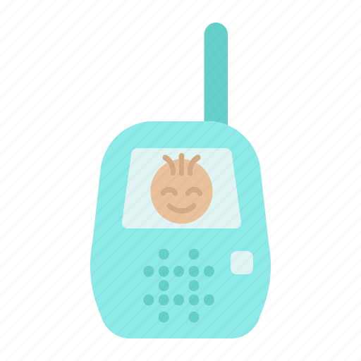 baby, care, child, control, mobile, monitor, radio icon