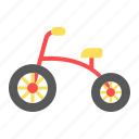 baby, bicycle, bike, child, toy, transport, tricycle icon