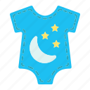 baby, body, born, clothes, kid, romper, shirt icon