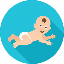 baby, child, crawl, crawling, infant, kid, newborn icon