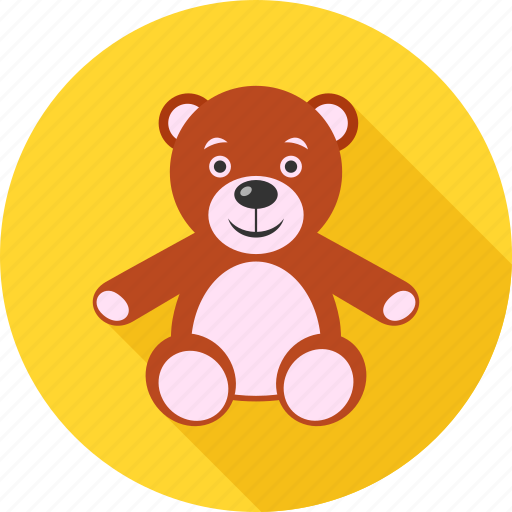 bear, kid, teddy, teddy bear, teddybear, toy, toys icon
