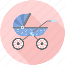 baby, carriage, infant, kid, pram, stroller, toddler icon