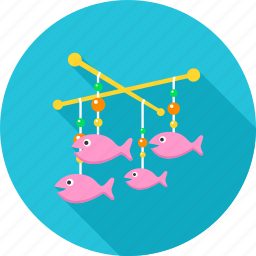 baby, fish, kid, kids, newborn, toy, toys icon