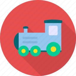 baby, game, play, toy, train icon