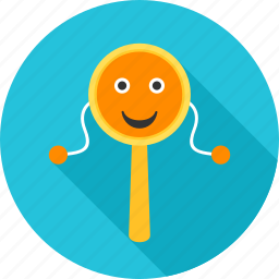 infant, kid, kids, play, rattle, toy, toys icon