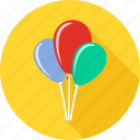 baby, balloon, birth, birthday, celebration, happy birthday, party icon
