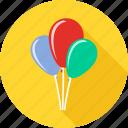 baby, balloon, birth, birthday, celebration, happy birthday, party icon
