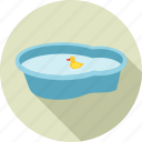 baby, bath, bathing, bathroom, infant, shower, swim icon