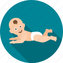 baby, child, children, crawl, crawling, infant, kid icon