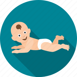 baby, child, children, crawl, crawling, infant, kid icon