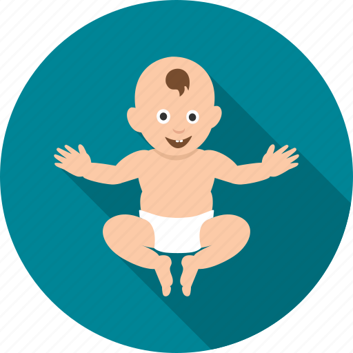 baby, child, happy, infant, kid, playing, toddler icon