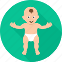 baby, child, dance, dancing, infant, kid, toddler icon