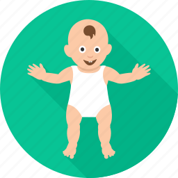 baby, child, dancing baby, happy, infant, kid, playing baby icon