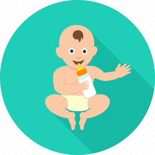baby, happy, infant, kid, newborn, playing kid, toddler icon