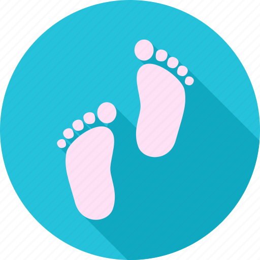 child, foot, footprint, house warming, housewarming, kid icon