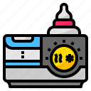 accessories, baby, bottle, cooler, warmer icon