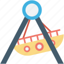 boat, dragon swing, ship swing, swing, swing boats icon