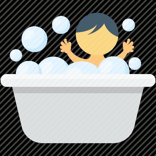 baby bath, baby tub, bath, bathing tub, bathtub icon