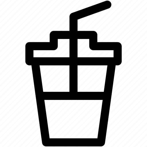 disposable cup, drink, glass, juice cup, soft drink icon