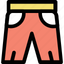 clothing, kids garment, knicker, shorts, summer clothes icon