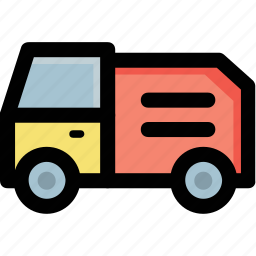 automobile, baby toy, toy vehicle, transport, truck icon