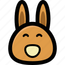bunny face, cartoon bunny, funny animal, kid toy, rabbit icon