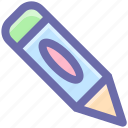 baby pencil, draw, edit, edition, pen, pencil, school, writing icon