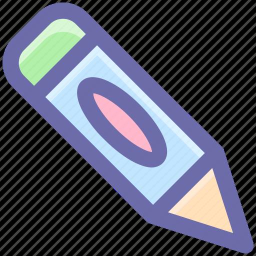 baby pencil, draw, edit, edition, pen, pencil, school, writing icon