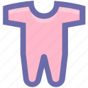 baby, baby clothes, baby dress, baby outfit, child, clothes icon