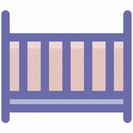 baby, cradle, crib, infant, kids, sleep icon
