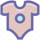 baby, baby clothes, clothes, kid, kids, romper icon