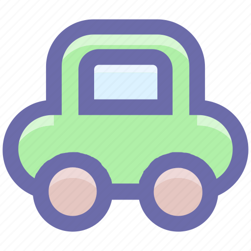 baby car, car, children's, game, kids, toy, toys icon