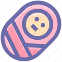 baby, boy, child, children, cute, kids, newborn, small baby icon