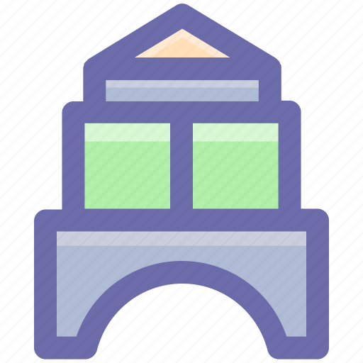 castle, game, kids, park, play, playground icon