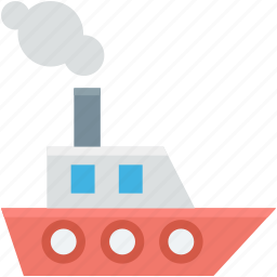 boat, boat toy, kid toy, ship toy, transport icon