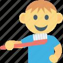 brushing, kid, brush, baby brush, toddlers