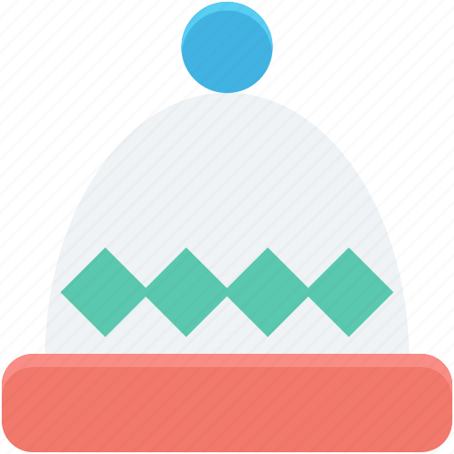 headgear, knitted cap, winter accessory, winter cap, winter hat icon