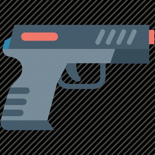 baby toy, gun, gun toy, pistol, pistol toy icon